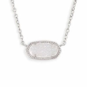Kendra Scott Elisa Pendant Necklace in Drusy
